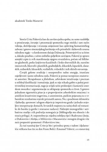Riječ na ispraćaju / Tonko Maroević