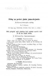 Prilog za poviest glasbe južno-slovjenske : kulturno-historijska studija / F. Š. Kuhač