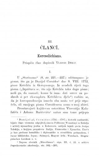 Kercselichiana / V. Dukat