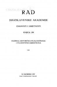 Knj. 116(1937)=knj. 259