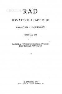 Knj. 123 [124!](1942)=knj. 273 [1.]