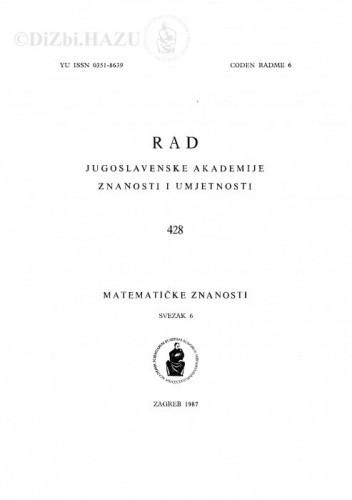 Sv. 6(1987)=knj. 31 / urednik Vladimir Volenec
