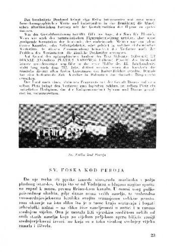 Sv. Foška kod Peroja / Branko Fučić