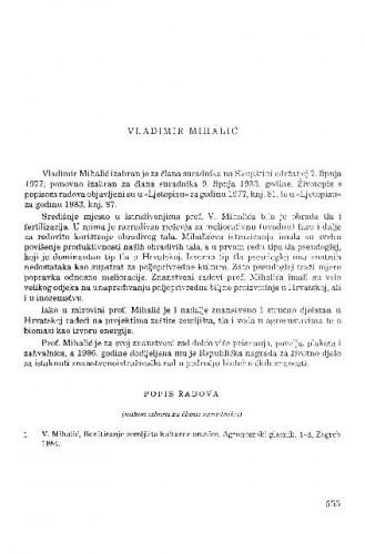 Vladimir Mihalić