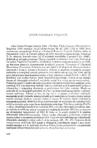 John Charles Polanyi
