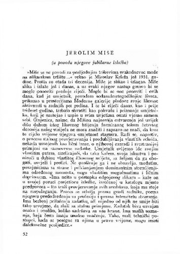 Jerolim Miše / Vinko Zlamalik