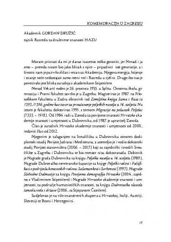 [Govori s komemoracije u Zagrebu] / Gordan Družić, Nella Lonza