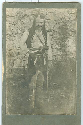 Portret Smaila O. Đaćuke, vojnika, potporučnika Narodne vojske (1854. – 1919.) ]