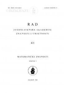 Sv. 5(1986)=knj. 28=knj. 421 / urednik Vladimir Volenec