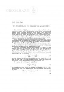 Ein Symmetriemass von Vierecken der affinen Ebene / S. Bilinski