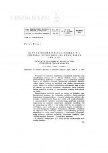 Rast interorbitalnog područja u čovjeka (Funkcionalna kranijalna analiza) / P. Rudan