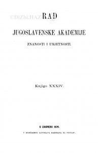Knj. 34(1876)=knj. 34