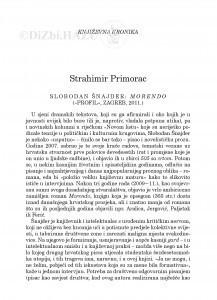 Slobodan Šnajder: Morendo (