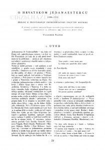O hrvatskom jedanaestercu : (1838-1900) : prilog proučavanju srpskohrvatske umjetne metrike / V. Nazor