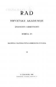 Knj. 84(1941)=knj. 271 [1.]