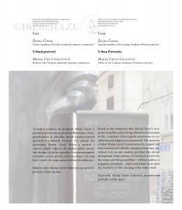 Urbani portreti: Marija Ujević Galetović : Urban portraits: Marija Ujević Galetović / Željka Čorak
