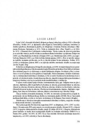 Lojze Lebič