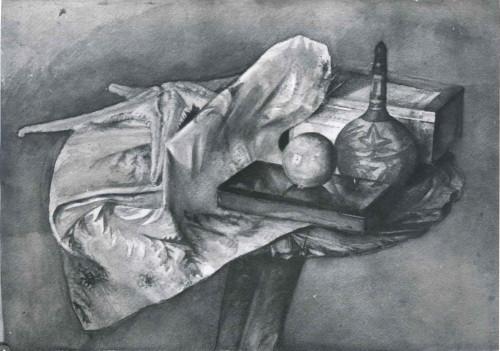 Raškaj, Slava (1877-1906) : Mrtva priroda sa tikvicom