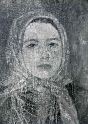 Raškaj, Slava(1877-1906): Seljanka s crvenim rupcem ]