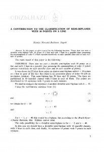 A contribution to the classification of semi-biplanes with 10 points on a line / K. Horvatić-Baldasar
