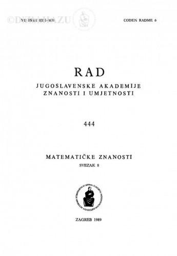 Sv. 8(1989)=knj. 37 / urednik Vladimir Volenec