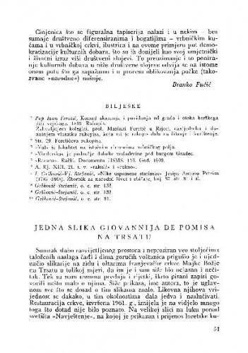 Jedna slika Giovannija de Pomisa na Trsatu / Zvonimir Wyroubal