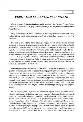 Veritatem Facientes in Caritae / Josip Bozanić