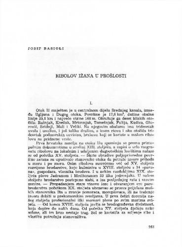 Ribolov Ižana u prošlosti / Josip Basioli