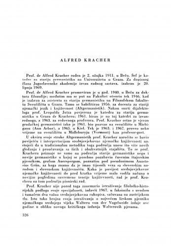Alfred Kracher
