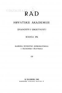 Knj. 125(1943)=knj. 276 [1.]