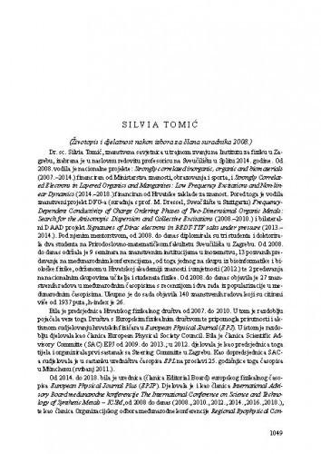 Silvia Tomić