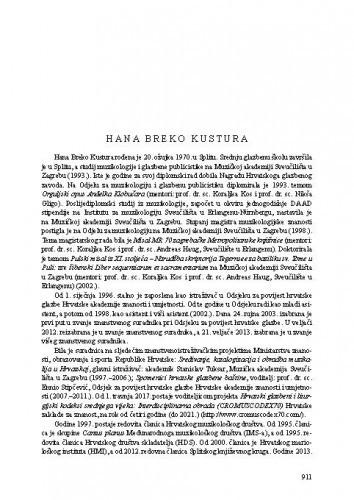 Hana Breko Kustura