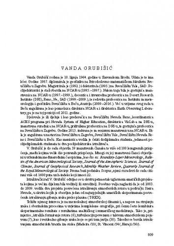 Vanda Grubišić