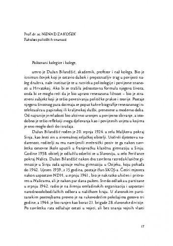 [Govor na komemoraciji održanoj 23. ožujka 2016.] / Nenad Zakošek