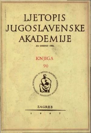 1986. Knj. 90 / urednik Hrvoje Požar