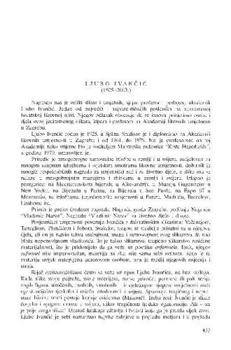 Ljubo Ivančić (1925.-2003.) : [in memoriam] / Đuro Seder