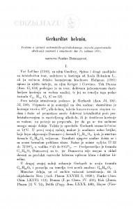 Gerhardtov helenin / S. Bošnjaković