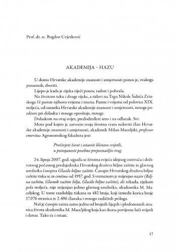 Akademija - HAZU / Bogdan Cvjetković