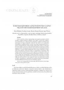 Kako smanjiti broj lažno pozitivnih i lažno negativnih mamografskih nalaza / Boris Brkljačić, Gordana Ivanac, Renata Huzjan-Korunić, Igor Čikara