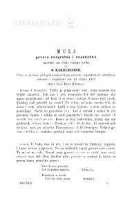 Mulj govora nespretnâ i nepodobnâ nanešen na obale našega jezika ili: o barbarismih / F. Kurelac