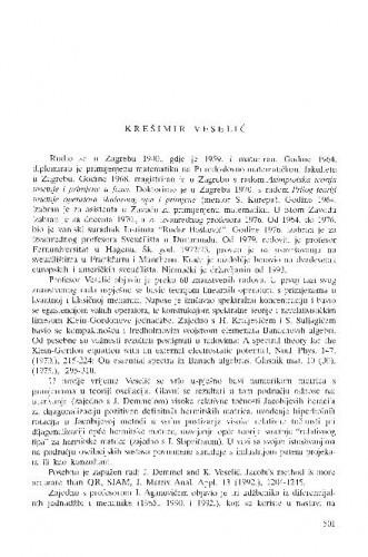 Krešimir Veselić