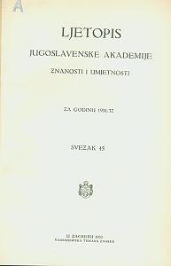 Za godinu 1931/32. Sv. 45