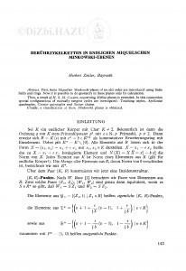 Berührzykelketten in endlichen Miquelschen Minkowski-Ebenen / H. Zeitler