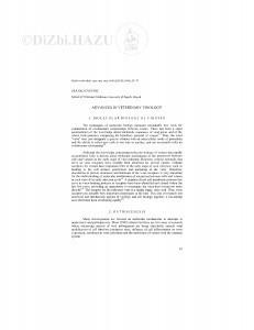 Advances in veterinary virology / S. Cvetnić