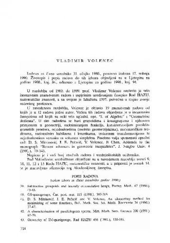 Vladimir Volenec