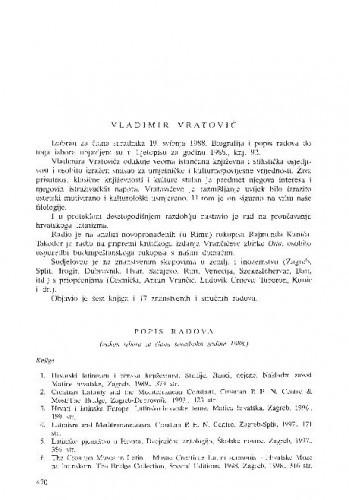 Vladimir Vratović