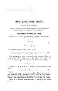 Dalnji prilog teoriji cisoide / K. Zahradnik