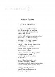Sedam pjesama / Nikica Petrak