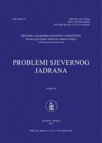 Sv. 18 (2020) / glavni i odgovorni urednik Miroslav Bertoša