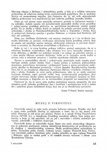 Muzej u Virovitici / Matko Peić